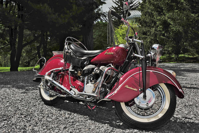 1947 Indian Roadmaster  Frame no. CDG4044