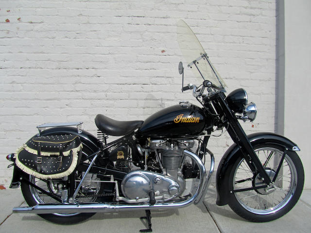 1949 Indian 440cc 249 Super Scout Frame no. BD13326 Engine no. 249336