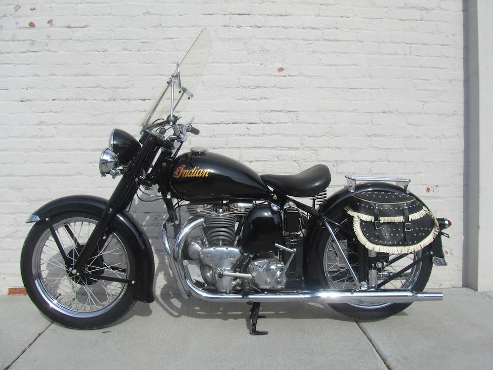 1949 Indian 440cc 249 Super Scout Frame no. BD13326 Engine no. 249336