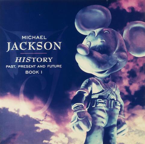 Facsimile album  cover of HIStory Past, Present and Future Book I