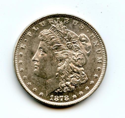 1878 7/8 Tailfeathers (Weak) $1