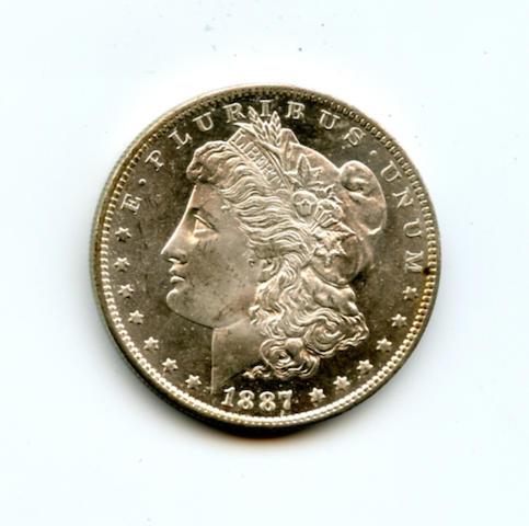 1887-O $1
