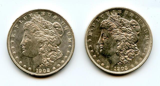 1902 $1; 1903 $1