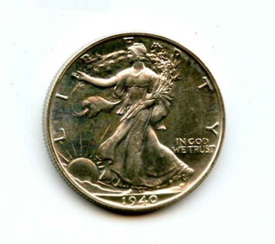 1940 50C Proof
