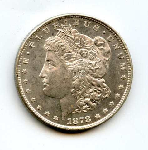 1878 7/8TF $1