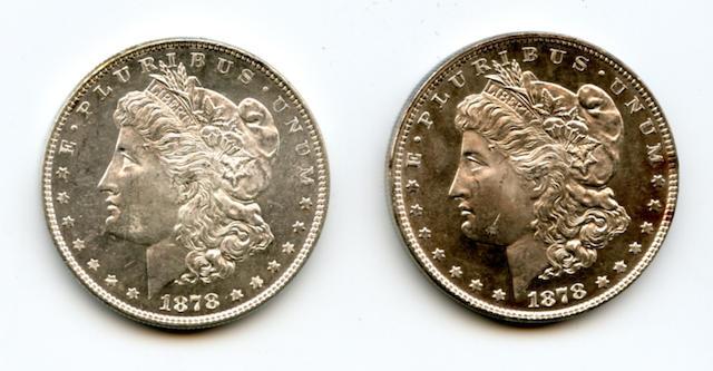 1878 7/8TF $1, 1878 7TF $1