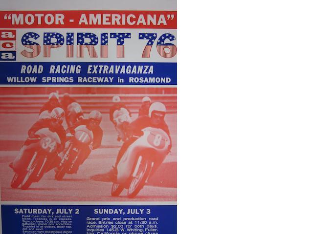 A Motor Americana ACA Spirit of 76, poster,