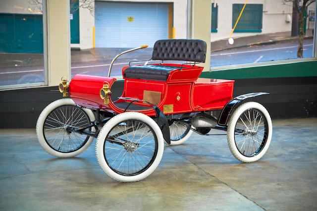 1902 Oldsmobile 5hp Runabout  Chassis no. 7815 Engine no. 7815