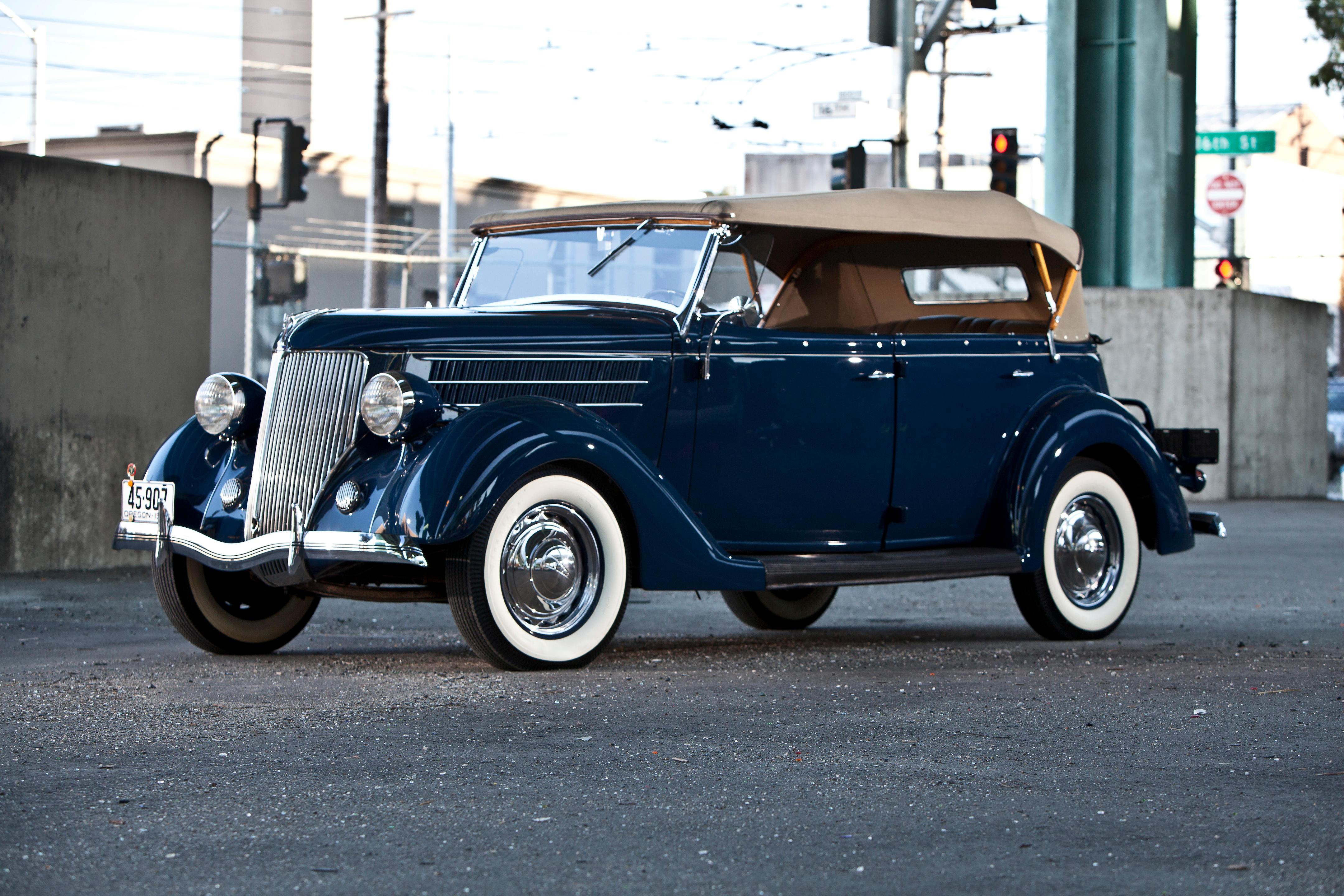 The ex-Jack Hogan, Dearborn Award-Winning 1936 Ford Model 68 Deluxe Phaeton...