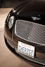 Former property of Cher, 2005 Bentley Continental GT, Chassis no. SCBCE, with CHER vanity plates