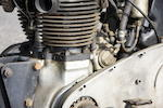 Acquired from the estate of Bud Hoopes,1939 Triumph 498cc Tiger 100 Frame no. 1794 Engine no. 9T10019318