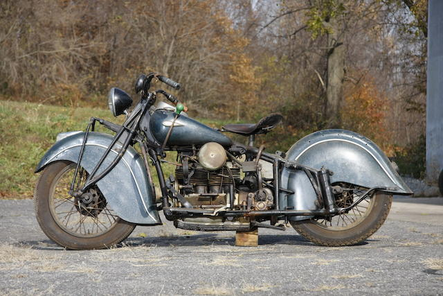 1940 Indian Four Frame no. DD0434M
