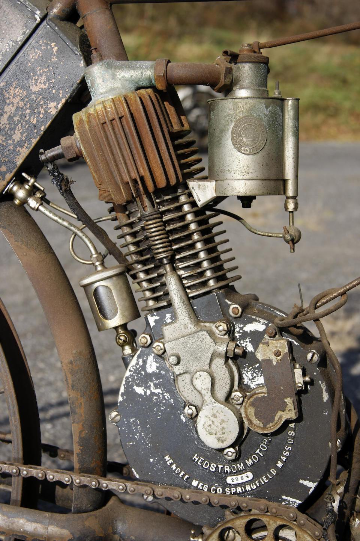 Ex-E. Paul du Pont, last ridden in the 1970s,1906 Indian Camelback Engine no. 2864