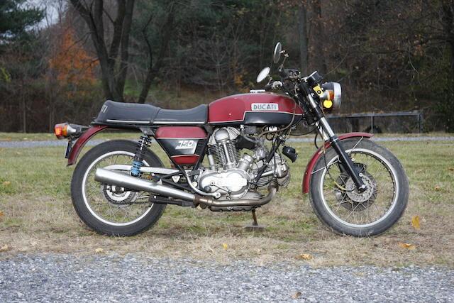 1973 Ducati 750GT Frame no. DM750S756123 Engine no. 756175DM750