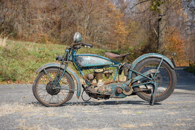 The last Indian Prince constructed,1928 Indian 21.35ci Prince Engine no. CL100
