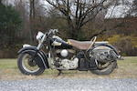 Acquired from Clem Murdough,1952 Indian 80ci Big Chief Frame no. C961108