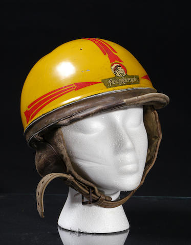 An Indian motorcycle Clymer Crash helmet,