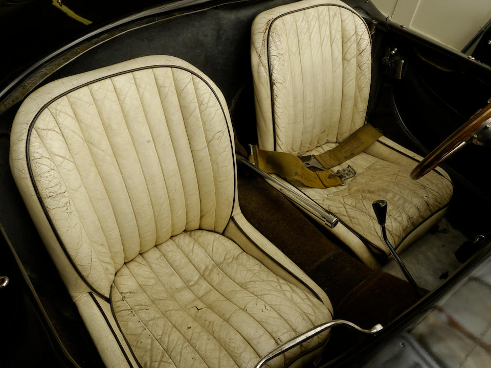 Single ownership for more than 54 years,1956 AC Ace Bristol Sports Two Seater  Chassis no. BEX 175 Engine no. 514