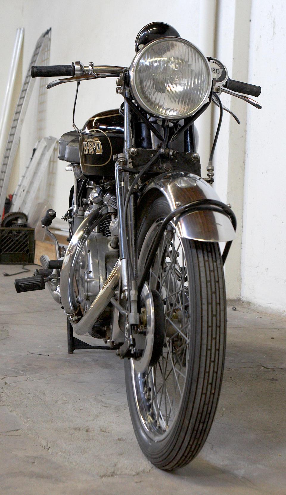 1947 Vincent 998cc Series B Rapide Frame no. R2287 Engine no. F10AB/1/288
