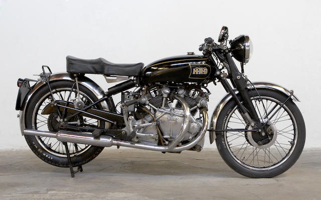 1947 Vincent 998cc Series B Rapide Frame no. R2287 Engine no. F10AB/1/288