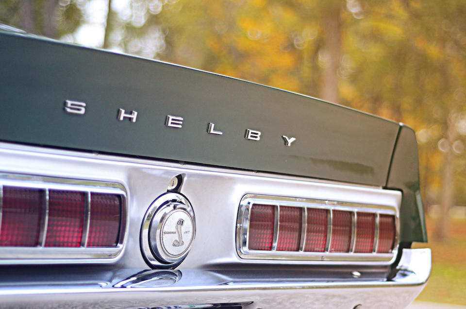 Numbers matching,1968 Shelby Mustang GT500KR Fastback  Chassis no. 8T02R210932