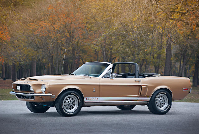 Documented, numbers matching, well optioned,1968 Shelby Mustang GT500 Convertible  Chassis no. 8T03S178845-02895