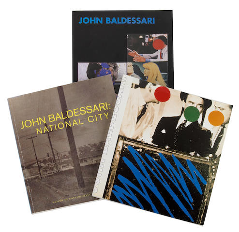 John Baldessari exhibition catalogs