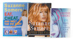 A group of inscribed and signed Suzanne Somers books