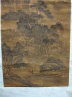 Various artists (18th/19th century) Two hanging scrolls