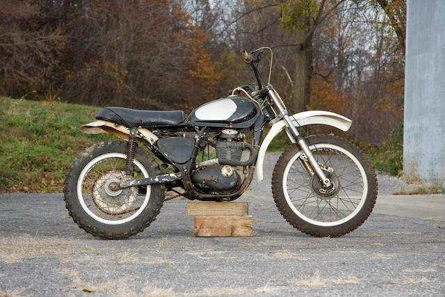 c.1970 Greeves-BSA 441cc Special Frame no. 56 0179 Engine no. B44R 1572