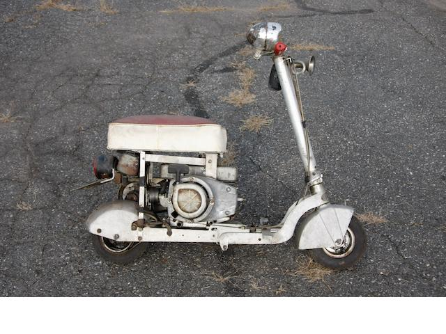 c.1960 Dinky-Cycle Collapsible Motor Scooter Engine no. J1128