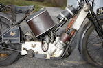 c.1924 Scott 486cc Squirrel Engine no. 581Z