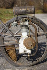 c.1922  Merkel Motor Wheel Engine no. G9677