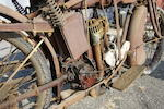 Original paint,1920 Indian 7hp Powerplus Engine no. 79R609