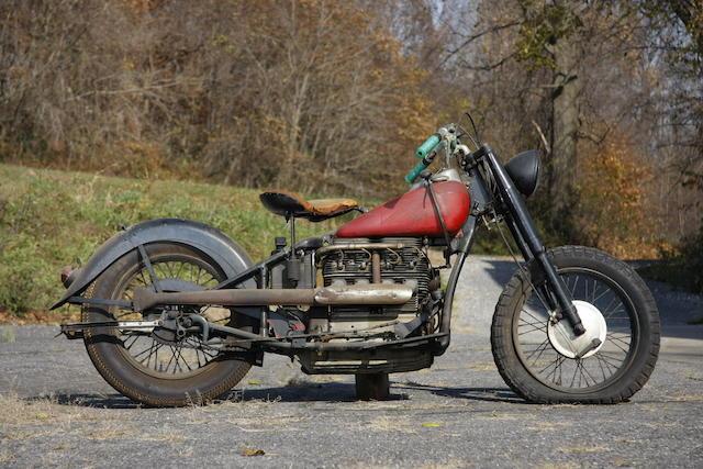 Ex-Clem Murdaugh,c.1939 Indian Four Frame no. 439432 Engine no. DCI432