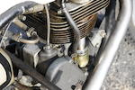 The ex-Ernie Washer,c.1955 Norton 500cc Manx Racing Motorcycle Engine no. 11M 63540