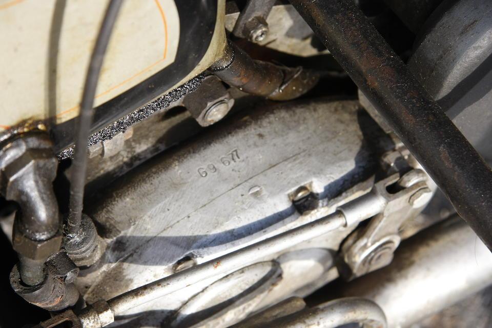 The ex-Ernie Washer,c.1955 Norton 500cc Manx Racing Motorcycle Engine no. 11M 63540