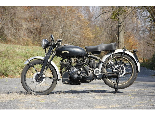 c.1953 Vincent 998cc Series C Black Shadow Frame no. RC/11818B (see text) Engine no. F10AB/1B/9918