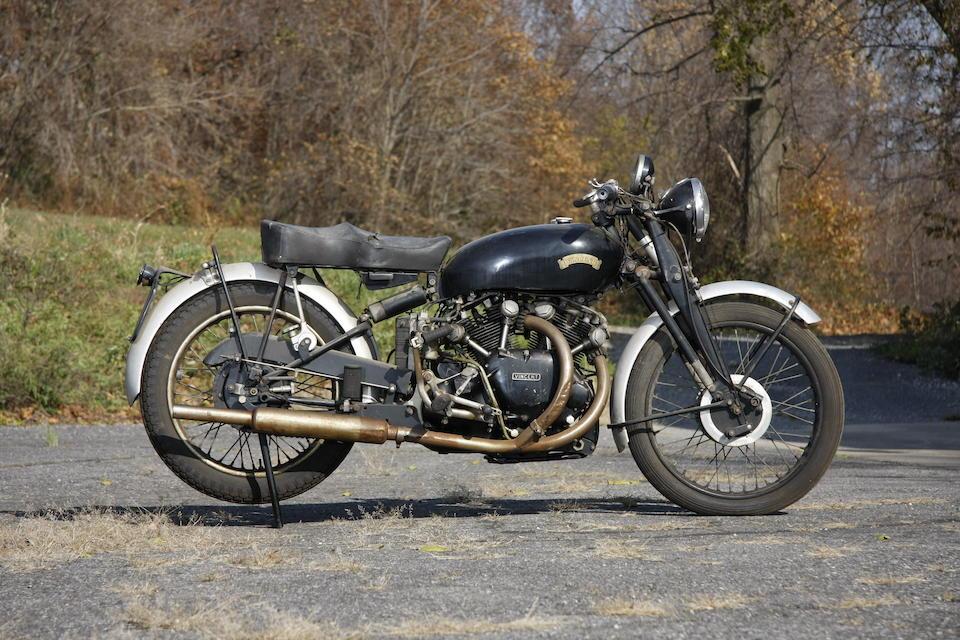 c.1953 Vincent 998cc Series C Black Shadow Frame no. RC/11818B (see text) Engine no. F10AB/1B/9918