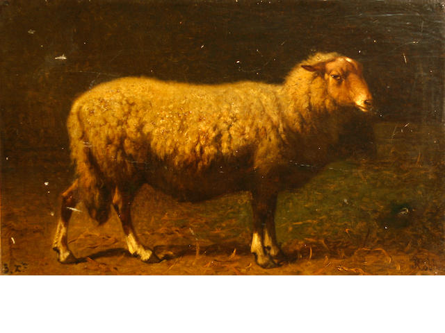 Louis Robbe, Study of a sheep