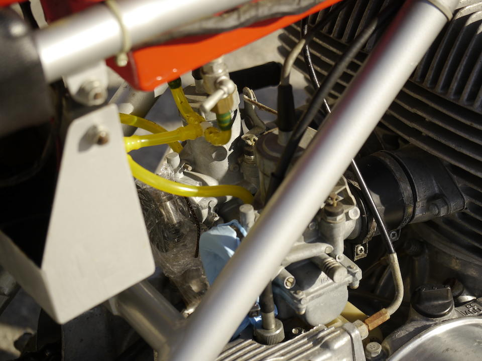 Offered by the original owner,1973 Seeley-Suzuki 500cc Street Legal Racer Frame no. CS2535 Engine no. T500 73633