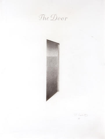 Peter Lodato (American, born 1946) The Door, 1988 25 x 19in