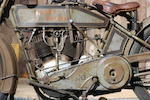 Ex-Gordy Clark Collection, Original Condition,1915 Harley-Davidson 11-F Twin Engine no. 3344K