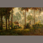 American School, Tropical Landscape, o/c.