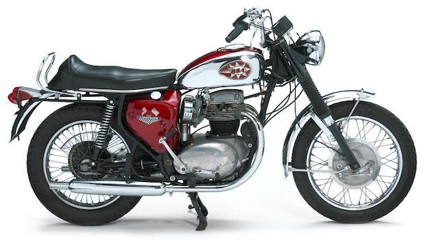1966 BSA A65 Lighning Frame no. BC18249A65L Engine no. BC18249A65L