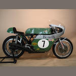 Team Obsolete Products, ex-Silverman Museum Racing,1998 Benelli 350cc Morbidelli-Beale Retro Racing Motorcycle Engine no. N.6