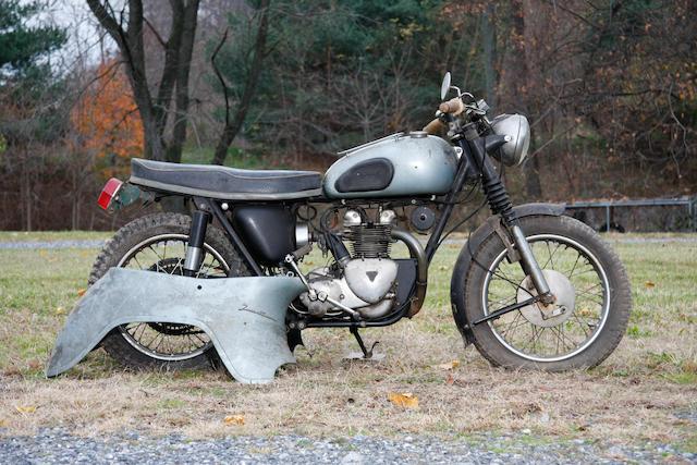 1958 Triumph 349cc Twenty One Frame no. H2134 Engine no. 21H2134