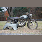 1958 Triumph 349cc Twenty One Frame no. H2134 Engine no. 21H2134