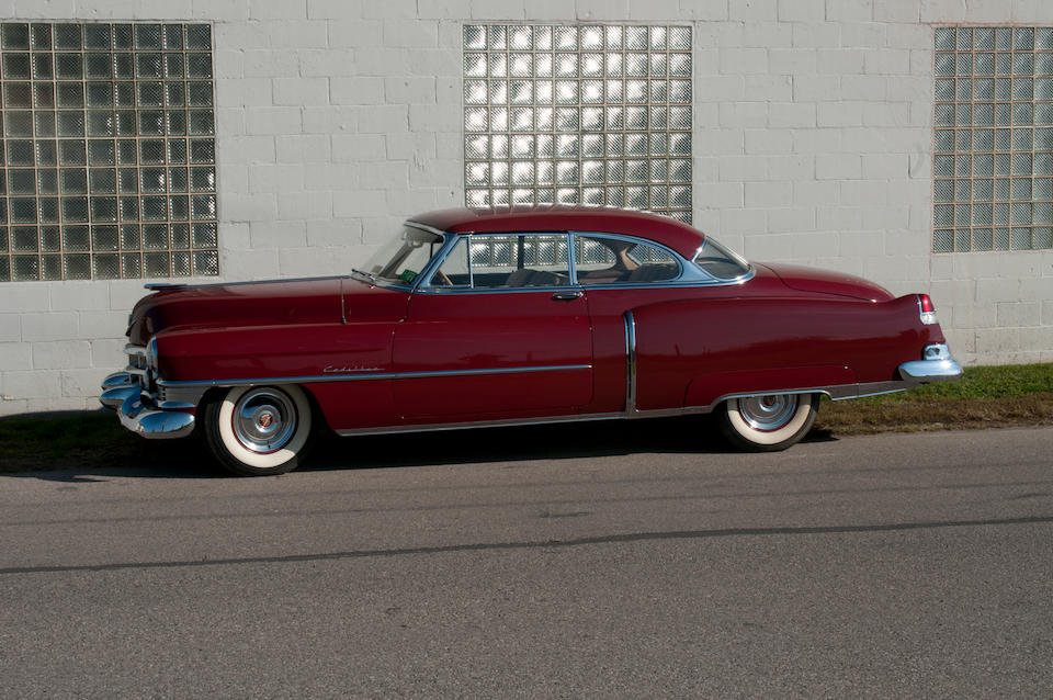 The property of David E. Davis, Jr., fewer than 9,000 miles recorded,1951 Cadillac Series 62 Coupe  Chassis no. 516256393