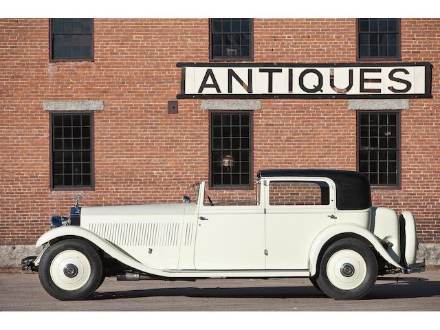 1932 Rolls-Royce Phantom II Sedanca de Ville  Chassis no. 79JS Engine no. CL65